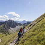 schochenspitze 2070m  tannheimer berge tirol
